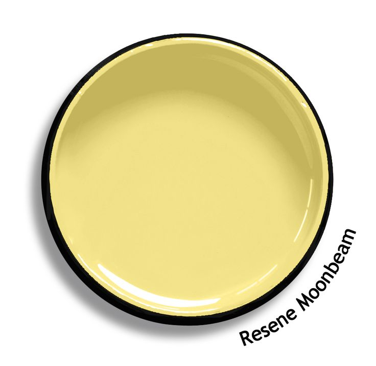 FAMILY ROOM - Resene Moonbeam is a toasted yellow with a sprinkle of orange…