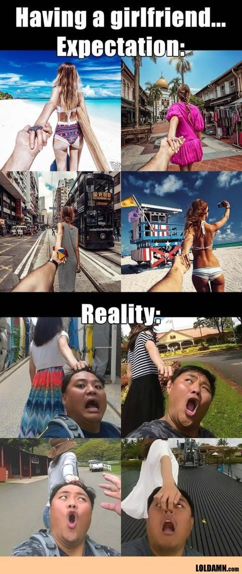 Traveling With Your Girlfriend: Expectation And Reality. http://ibeebz.com