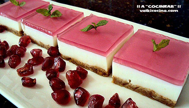 Para la próxima reunión familiar no dudes en preparar estas mini tartas del blog A COCINEAR. Todos quedarán encantados.
