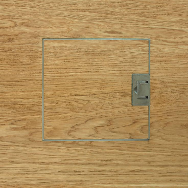 Grain end matched electrical floor socket for Wood floor outlet cover