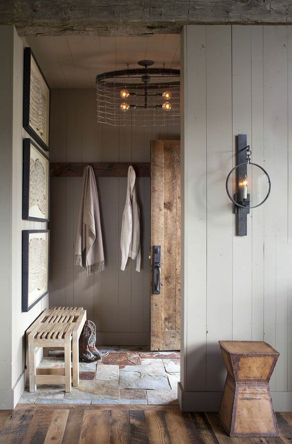 Rustic bunkhouse nestled on a sprawling ranch in Montana | designed by Carter Kay Interiors