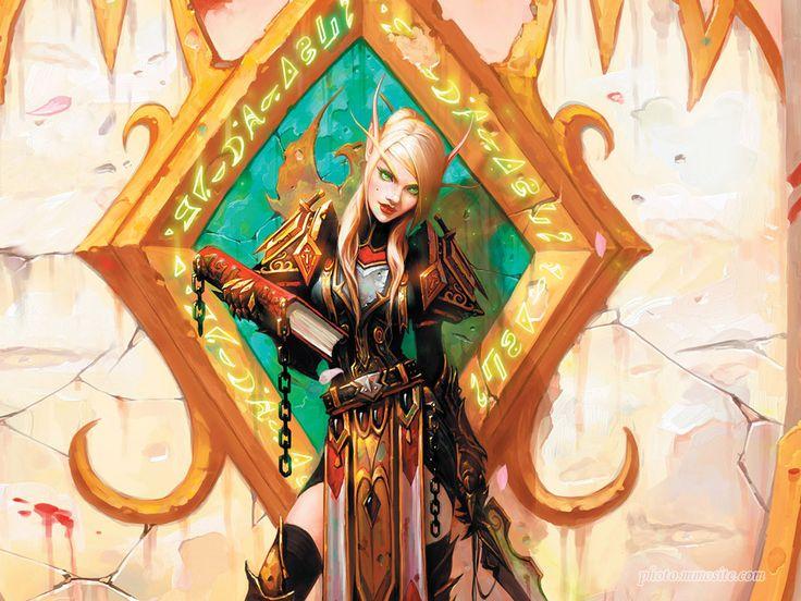 World Of Warcraft Wallpaper Blood Elf