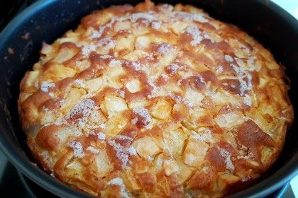 Supersaftiger Apfelkuchen