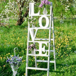 Dekoracja drabina LOVE_