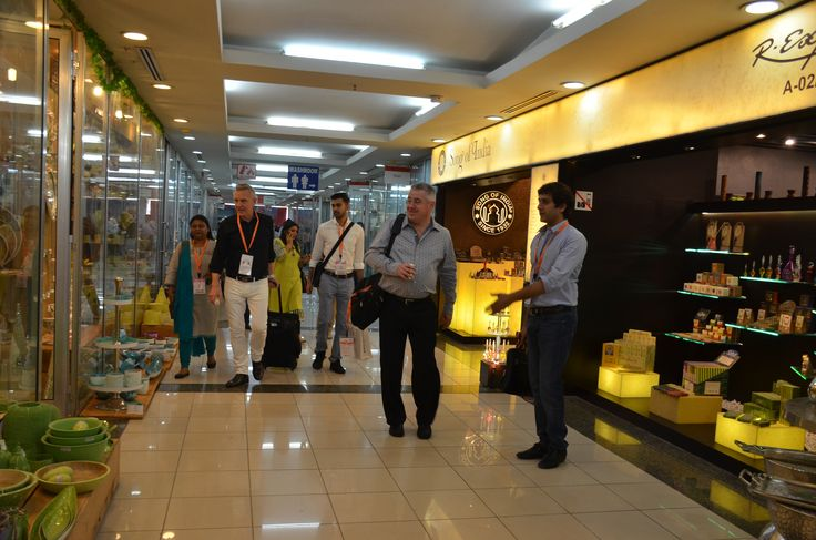 Comfortable & enjoyable experience at The Home Expo India, 2016 #homeexpo #tradeshow — at India Expo Mart.