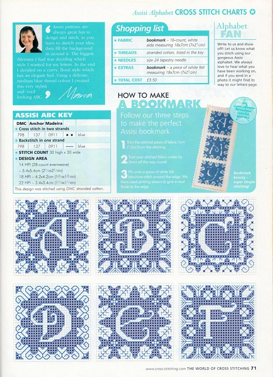 195 best grilles points de croix alphabets images on pinterest gallery 39 the world of cross stitching 070 2003 thecheapjerseys Gallery