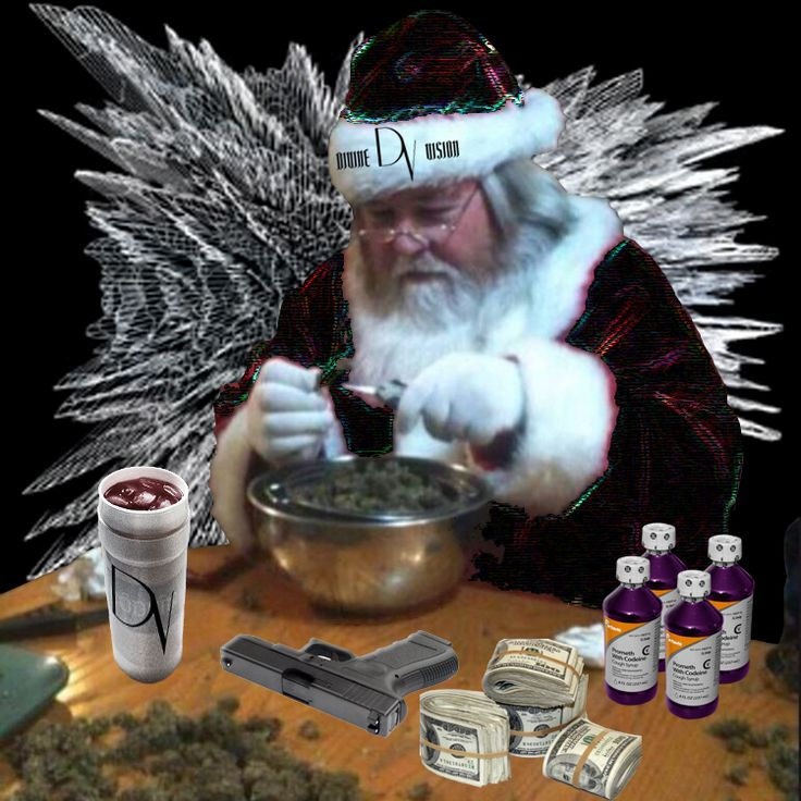 Even Santa Claus is wearing Divine Vision.