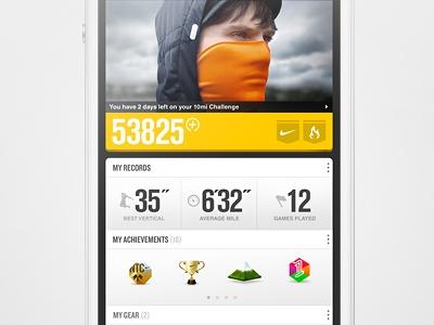 Nike+ Universal Profile
