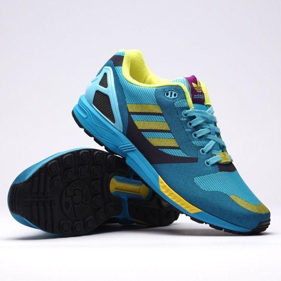 #adidas ZX Flux 8000 Weave OG Aqua #sneakers