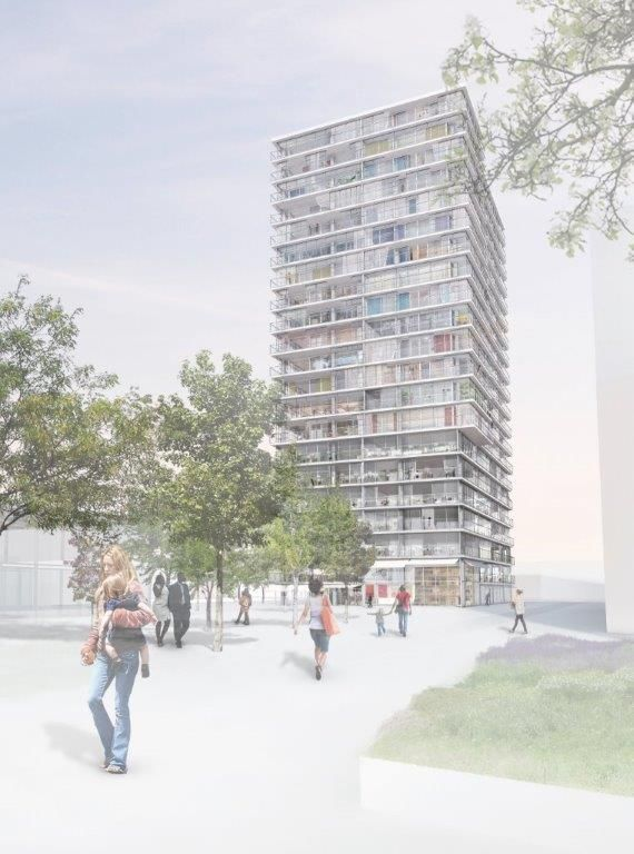 Lacaton & Vassal . High-rise building . Geneva (1)