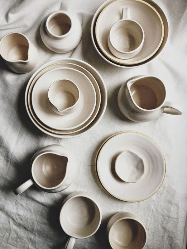 Next up on this year's to-do list: creating my own set of handmade stoneware. / via Coco Kelley