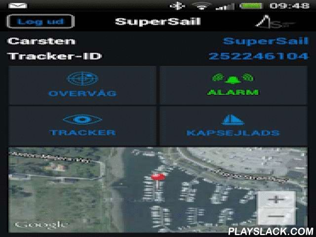 SuperSail  Android App - playslack.com , SuperSail app is the control panel for SuperSail Marine Alarm, which contains all functions needed for a front edgeMarine Alarm system.As a standard, features like GPS Fence, 12V monitoring, Collision Sensor, Jamming monitoring and Tracking are included.As an option, features like Wireless Alarm Sensors and remote control of e.g. heating can be added.Visit www.super-sail.dk for further information.