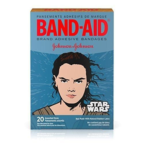 Band-Aid Star Wars Assorted Adhesive Bandages 20 Count