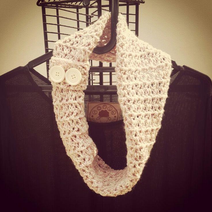 My infinity crochet shawl