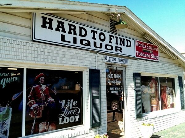 That Thing You Can't Get Anywhere Else - the quest to find Choc Beer in Ardmore, Oklahoma led to the aptly-named Hard to Find Liquor store.