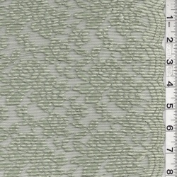 Sage Pleated Lace