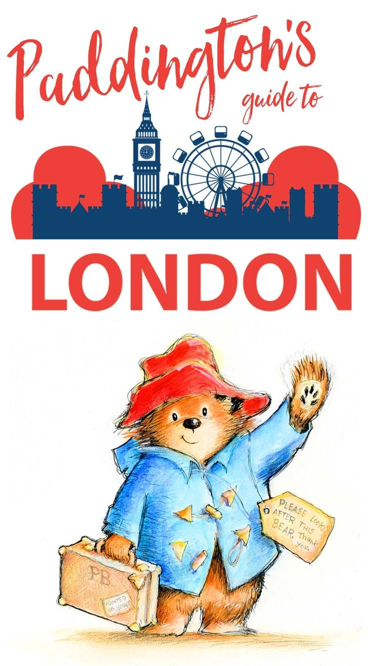 Follow Paddington Bear from deepest, darkest Peru all the way to the busy streets of London to find his favorite spots in this Paddington's Guide to London. #London #Paddington #LondonGuide