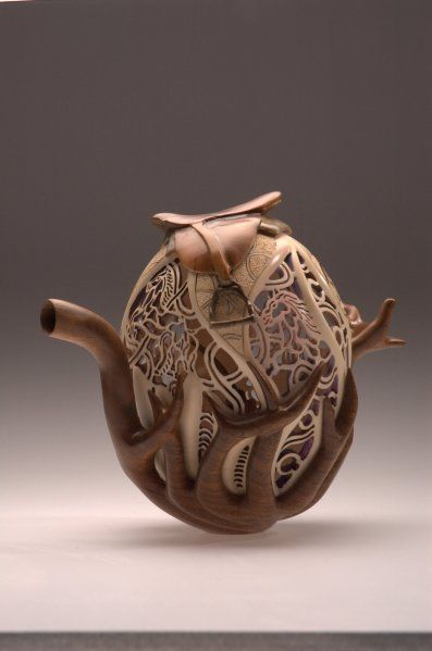 Collectors of Wood Art - Artist Portfolio Joey Richardson  - Enlish Sycamore & English Walnut
