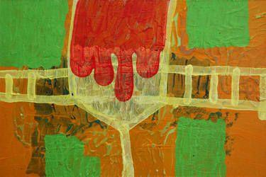 """Saatchi Art Artist Øyvind Suul; Painting, """"Mind map #20"""" #art"""