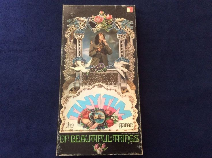 Vintage The Tiny Tim Game Of Beautiful Things Board Game 1970 Parker Brothers #ParkerBrothers