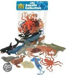 bol.com | Wild Republic - 11 Plastic Zeedieren | Speelgoed