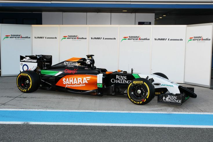 Force India VJM07 launch gallery
