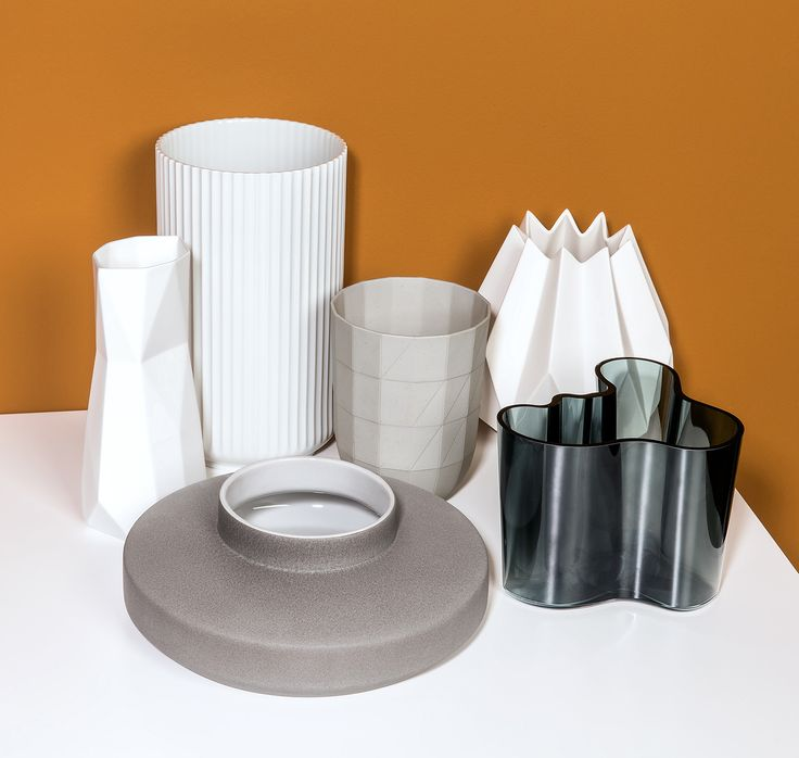 Shape shifters. Refined ceramics manufactured by the masters of modern Nordic design. Shop now at store.wallpaper.com