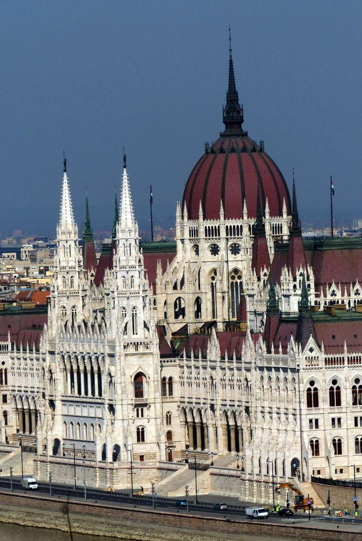 Parliament in Budapest (March 2014) - Photo taken by BradJill