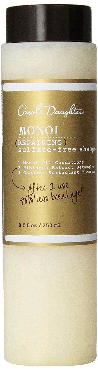 Carol's Daughter Monoi Repairing Sulfate-Free Shampoo, 8.5 Ounce -- Details can be found by clicking on the image.