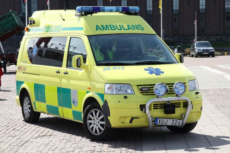 Ambulansutryckning, hur lång tid skall det ta.