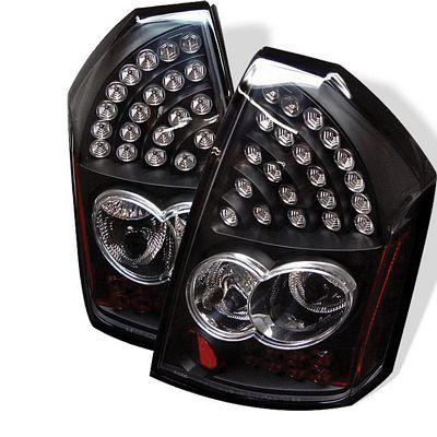 Chrysler 300 2005-2007 Black LED Tail Lights | A103JG2D109 - TopGearAutosport