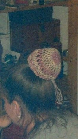 Bun cover side view