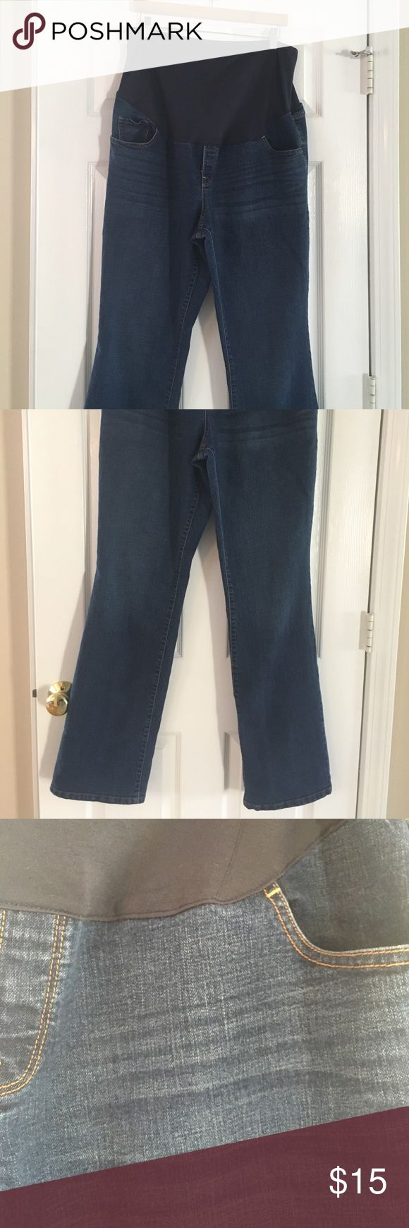 Old Navy maternity jeans size 18 long Full panel Old Navy maternity jeans/ size 18 long Old Navy Jeans Boot Cut