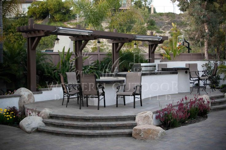 San Diego Outdoor Living Spaces: 17 Best Images About BBQ Islands: Western Outdoor Designs
