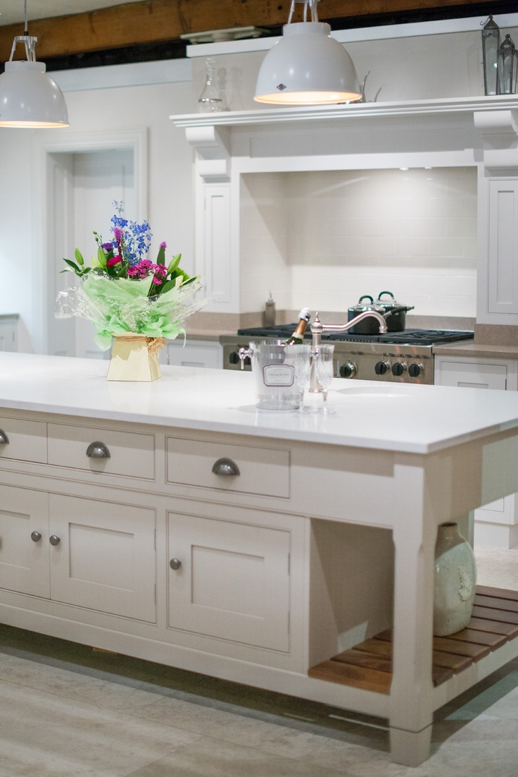 The Grantham kitchen in our showroom