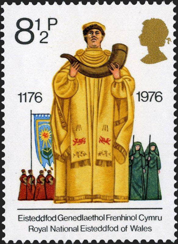 Royal Mail Special Stamps |1176-1976 - Eisteddfod Genedlaethol Frenhinol Cymru - Royal National Eisteddfod of Wales
