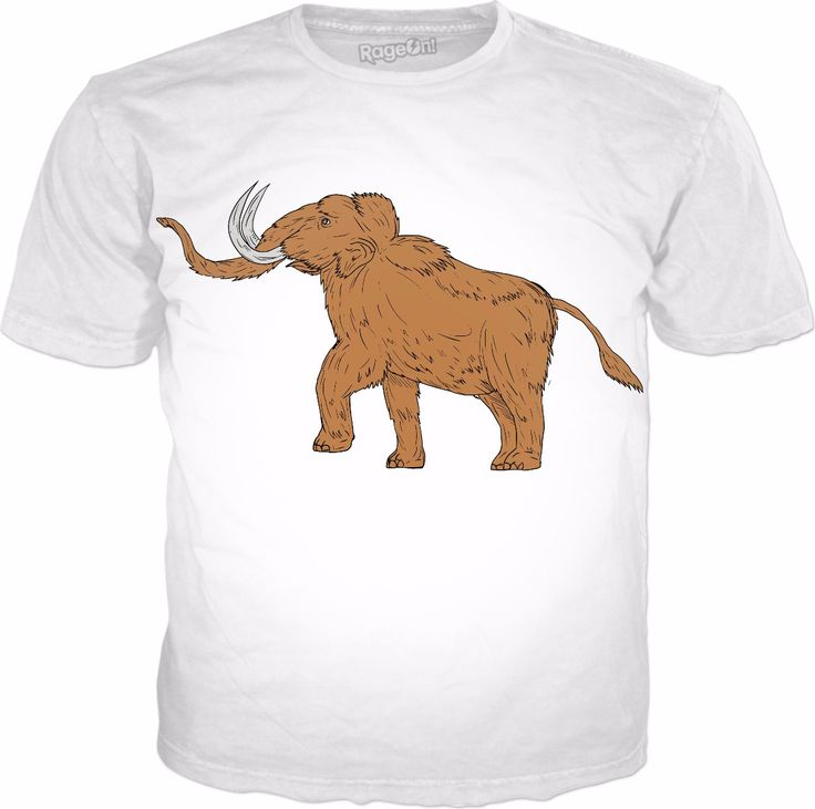 Check out my new product https://www.rageon.com/products/woolly-mammoth-prancing-drawing?aff=B3u0 on RageOn!