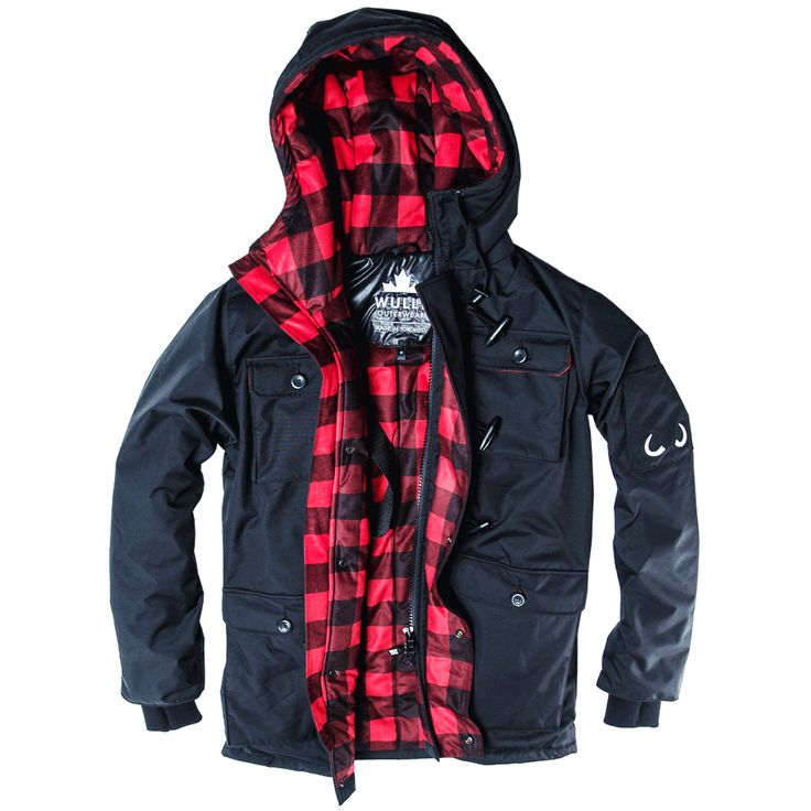 Winter Elk Parka Mens | Wully Outerwear | Made In Toronto