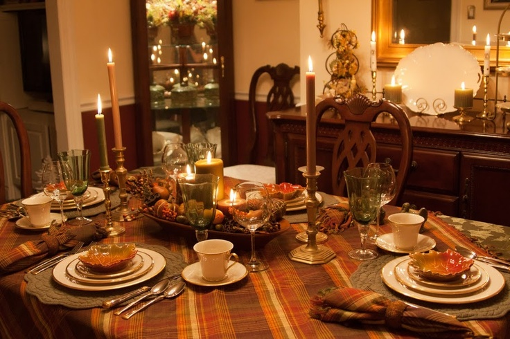 Thanksgiving Tablescape 2011 Lenox Eternal
