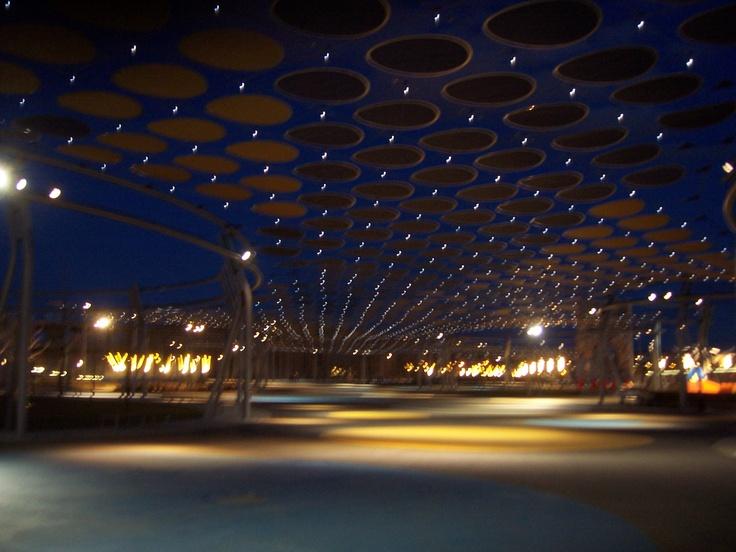 La Expo vacía