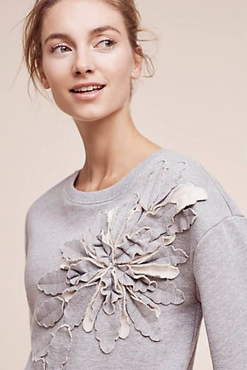 Flower Pop Sweatshirt