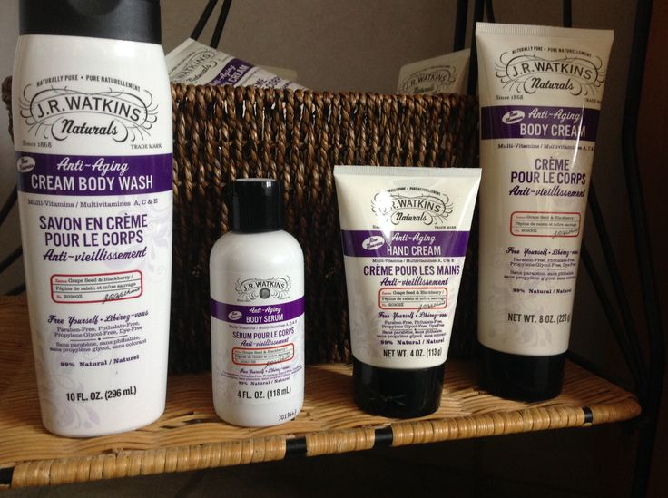 Watkins Anti Aging Products. All natural ingredients, great price,  and amazing results!