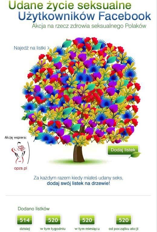 121PR – kampanie wizerunkowe online - Drzewo seksualne na facebook.com/sekstozdrowie