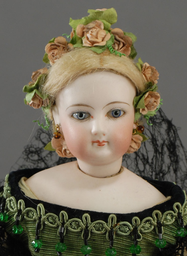 François Gaultier fashion doll, 1860.