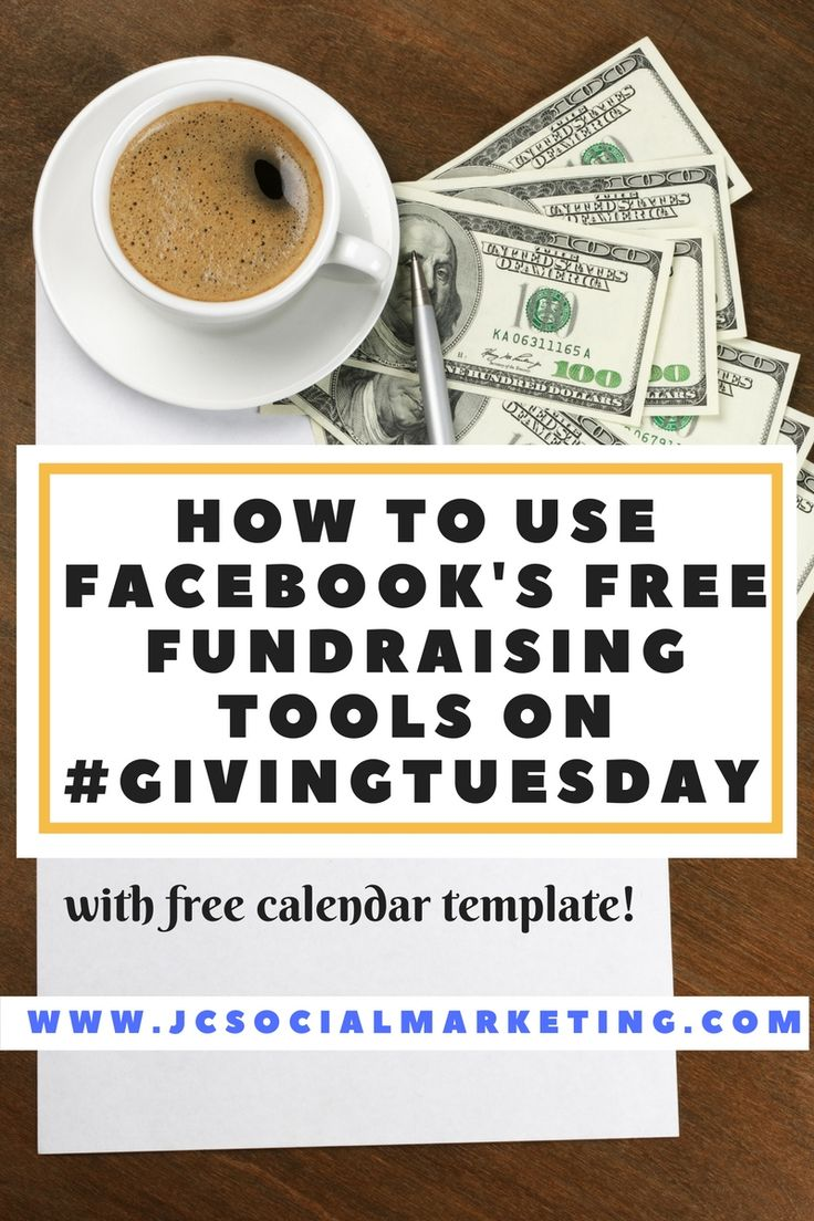 How To Use Facebook's Free Fundraising Tools on #GivingTuesday