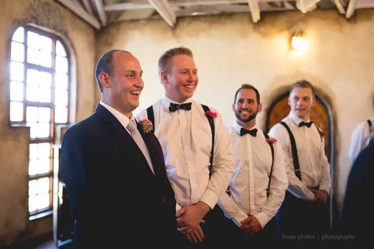 Wow, we love to see our Grooms faces when they see their bride for the first time!