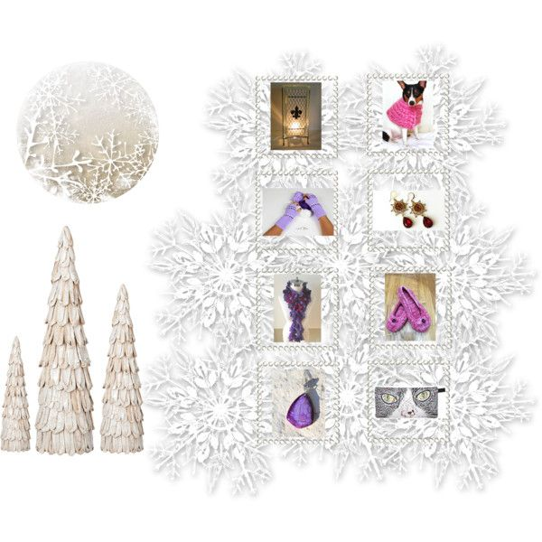 Snow Day is for Shopping by glowblocks on Polyvore