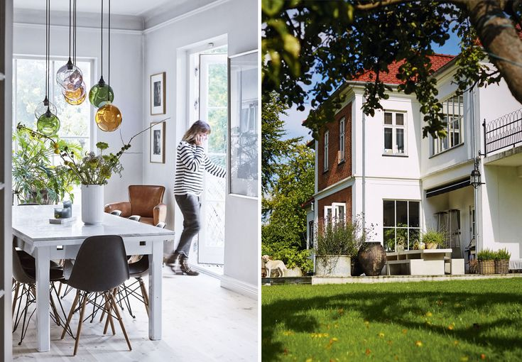 Henriette Staib ejer de skønne blomster- og interiørbutikker De Fire Årstider. Se hendes smukke, private hjem, og få hendes bedste fif til at skabe en skøn stemning.