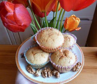 smaki życia Ewy: Mufinki z masłem orzechowym