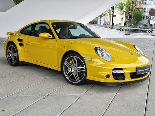 Porsche 911 Turbo at Porsche Museum Germany
